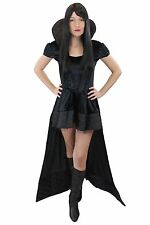 Lavish & Sexy Fancy Dress Dress Evil Queen Witch Vampire Gothic Fairytale L008