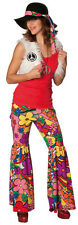 Rubies: Hippie Girl Costume 2 Parts Model 1/3531 60s 1970s Flower Power Flares