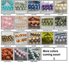 6mm Round Druk Czech Glass Beads 25 Choose Color New Arrivals