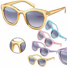 Sense42 Retro Sunglasses transparent Frame Nerd Glasses Wayfarer - Style Ladies