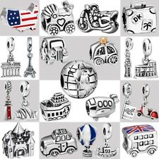 2017 Genuine 925 Silver Sterling Fine European Charms For Fashion Bead Bracelet