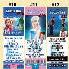 Disney Frozen Birthday Invitations & Thank You Cards Personalized Custom Made