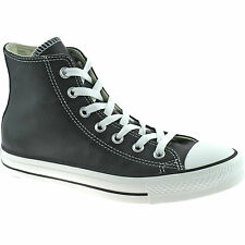 MENS CONVERSE ALL STAR LEATHER BOOTS SIZE UK 3 - 12 LADIES BLACK 132170C