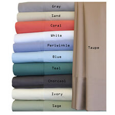 Hybrid Rayon From Bamboo Sheet Queen Size Set 100% Bamboo Cotton sheets 300 TC