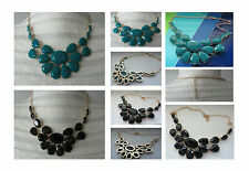 Ladies Bead Collar Necklace Statement Bead Necklace Fashion Choker Necklace