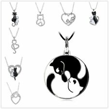 Women Aniamal Pendant Charm Bead For Chain Silver Plated Crystal Necklace DIY