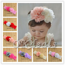 Kids Baby Girl Child Toddler Flower Headband Hair Band Lovely Headwear Fashion