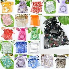 Wholesale Organza Voile Pouches Jewelry Gift Wedding Christmas Xmas Festival Bag