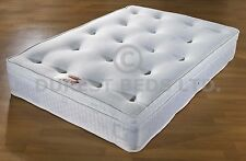 3ft 4ft6 5ft 10inch topper ORTHOPAEDIC open coil sprung mattress brand new