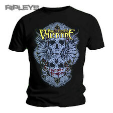 Official T Shirt Bullet For My Valentine Temper WINGED SKULL Logo All Sizes