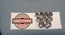 "NEW Craftsman 3/8"" Drive Dr -Metric mm Shallow Socket 6 Pt Point Choose ANY SIZE"