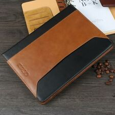 Genuine Real Leather Case Smart Stand Cover+Bluetooth Keyboard for iPad  2 3 4