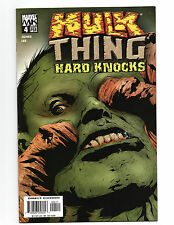 Hulk & Thing Hard Knocks #4 FN February 2005 Marvel Knights Comics Jones Lee