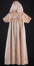 Baby Boys Girls Gold Christening Baptism Gown Robe Sizes XS ML Infant Dresses