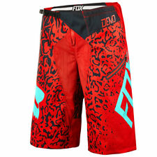 FOX DEMO DH CAUZ BIKE SHORTS RED 2016