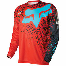 FOX DEMO CAUZ LS BIKE JERSEY RED 2016