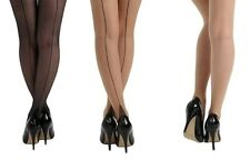 SEAMED JIVE TIGHTS CUBAN HEEL FROM PAMELA MANN BURLESQUE RETRO 40'S 50'S VINTAGE