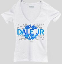 LADIES JUNIOR FITTED DALE EARNHARDT JR #88 V-NECK NASCAR TEE SHIRT