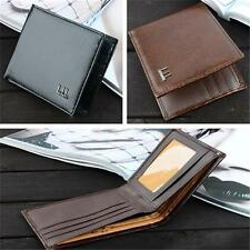 Vogue Men's Business Bifold Leather Wallet Pocket Card Holder Clutch Slim Purse