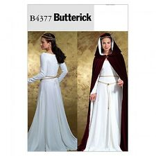 Free UK P&P - Butterick Ladies Sewing Pattern 4377 Historical Costume Dre...