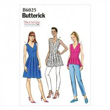 Butterick Ladies Easy Sewing Pattern 6025 Top, Tunic & Dress (Butterick-6...