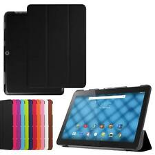 """Slim Leather Flip Case Stand Cover for 10.1"""" Acer Iconia One 10 B3-A10 Tablet"""