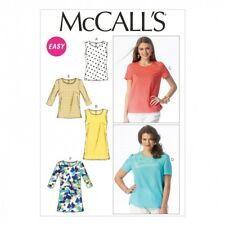 McCalls Ladies Sewing Pattern 6927 Tops & Tunics with Cup Sizes (McCalls-...