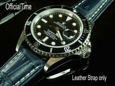 Calf Leather Strap (L size) fit Rolex Daytona / Submariner / DateJust GMT Master
