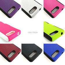 For Motorola Electrify M XT901 US Cellular APEX Hybrid Gel Hard Soft Case Cover