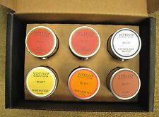 6 Pack of Boxed Votivo Aromatic Votive Candles  Red Current Teak Pink Mimosa etc