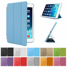 Leather Smart Stand Magnetic Slim Shell Case Cover For iPad Air 6 5 4 3 2 Mini