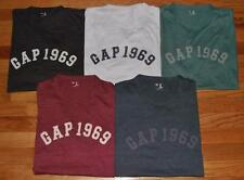 NEW NWT Mens GAP Distressed 1969 Arch LOGO Graphic Tee T-Shirt 5-Colors All Size