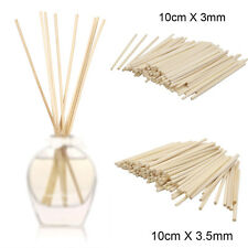 100 X Premium Rattan Reed Fragrance Oil Diffuser Replacement Refill Sticks Reeds