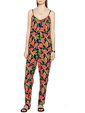 PPQ Cream Label Floral Print Jumpsuit