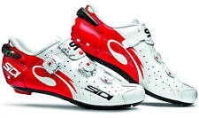 SIDI WIRE CARBON TECNO 3 PUSH VERNICE ROAD BIKE SHOES WHITE/RED