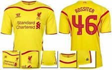 *14 / 15 - LIVERPOOL AWAY EURO & DOMESTIC SHIRT SS / ROSSITER 46 = SIZE*
