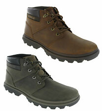 New Mens CAT Caterpillar Mowry Leather Lace Up Desert Ankle Boots Size 7-12