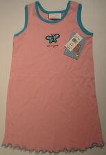 LIFE IS GOOD Boo Boo Butterfly Dress Pink Teal Blue New WT Girls Size 24 Month