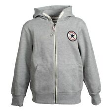Converse KIDS C.T.P. Core Zipper Hoodie Hood Sweater jacket Boys grey