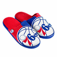 Philadelphia 76ers Youth Split Color Slide Slippers - NBA