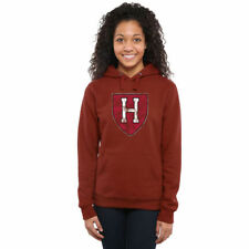 Harvard Crimson Women's Classic Primary Pullover Hoodie - Crimson - College