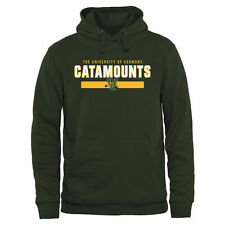 Green Vermont Catamounts Team Strong Pullover Hoodie - College