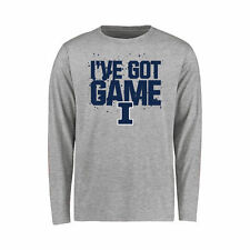 Illinois Fighting Illini Youth Got Game Long Sleeve T-Shirt - Ash - College