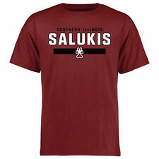Southern Illinois Salukis Team Strong T-Shirt - Maroon - College