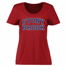 Stony Brook Seawolves Women's Everyday Classic Fit T-Shirt - Red - College