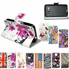 Synthetic Flip Wallet PU Leather Case Cover For Samsung Galaxy Core 2 II SM-G355
