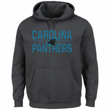 Carolina Panthers Majestic Kick Return Pullover Hoodie - Charcoal - NFL