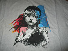 Vintage 1986 LES MISERABLES Theater Broadway Play (XL) T-Shirt GRAY