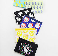 With Alice Mini Card Case Holder Credit Name Traffic Card Illustration Purse