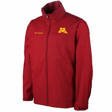 Minnesota Golden Gophers Glennaker Lake Full Zip Rain Jacket - Maroon - NCAA